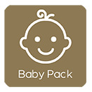 Turismo rural baby pack