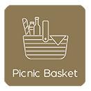 Turismo rural picnic basket