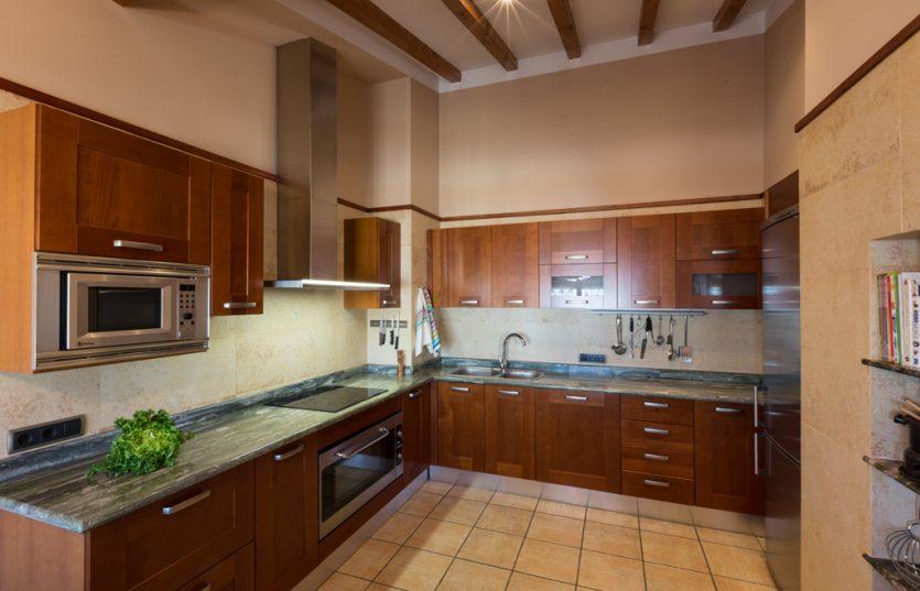 Casa Rural cocina completa