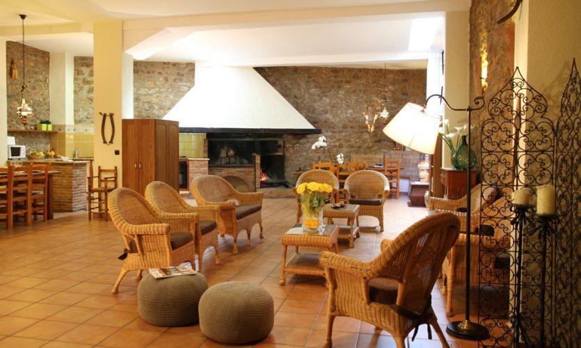 Casa Rural en castellón con salón